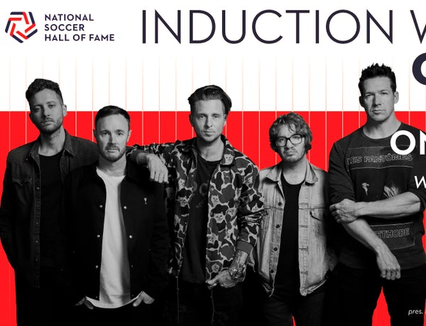 National Soccer Hall of Fame Concert with One Republic
