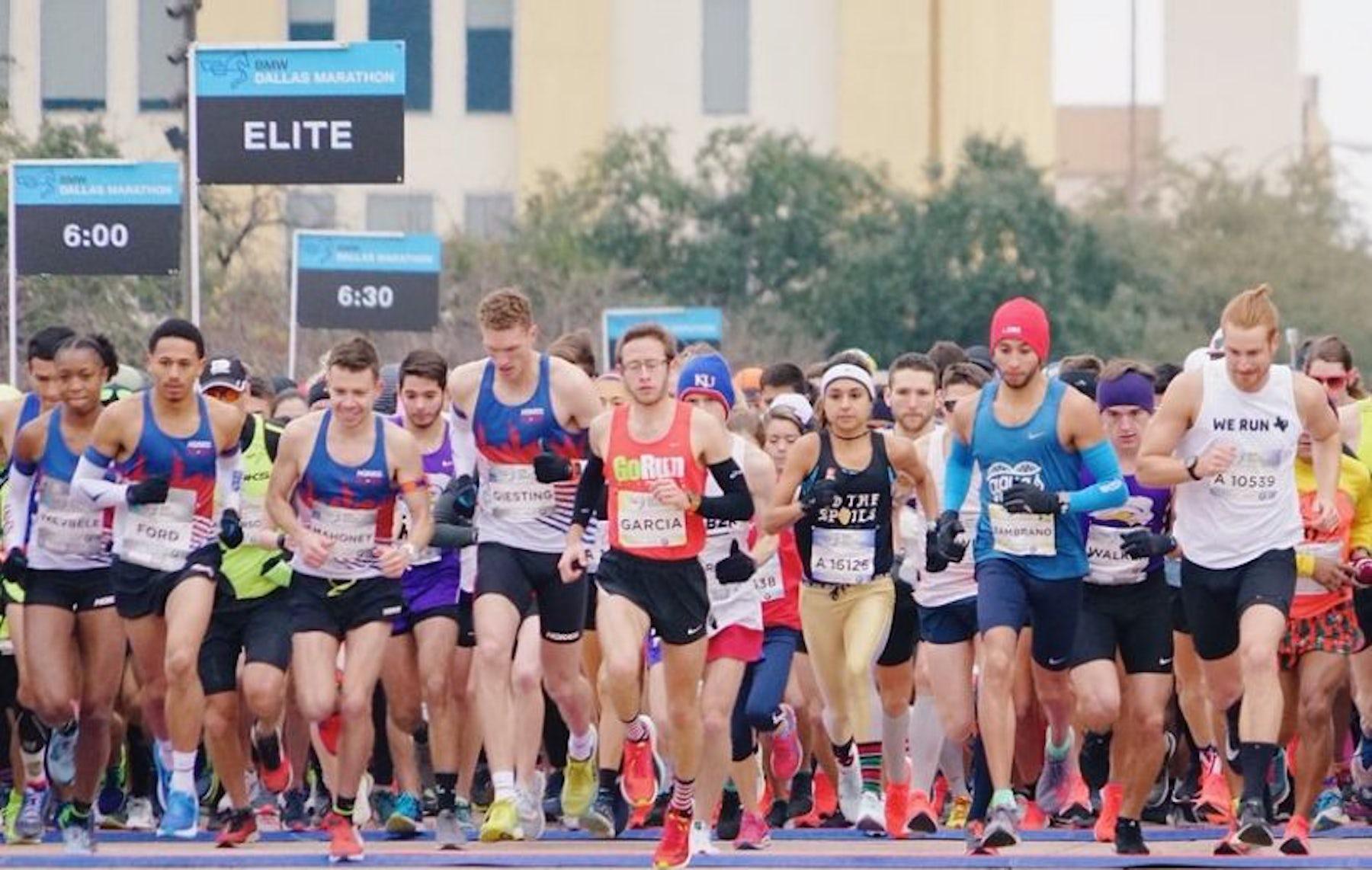 2021 BMW Dallas Marathon Festival