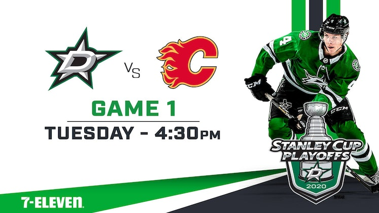 Dallas Stars vs. Calgary Flames - Stanley Cup Playoffs