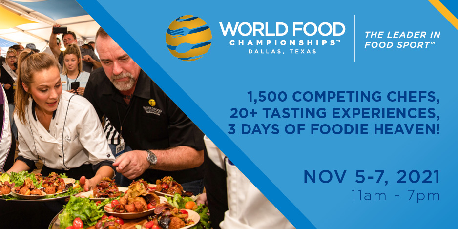 Video for World Food Championships Return to Dallas