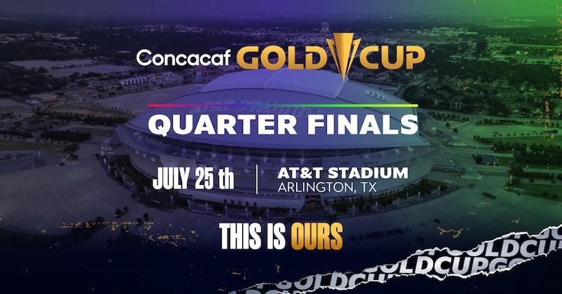 Gold Cup Quarterfinals (Groups B &C)