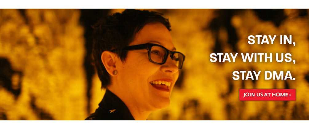 Dallas Museum of Art: Stay In Stay With Us Stay DMA