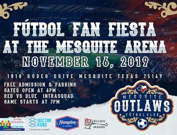 Futbol Fan Fiesta at the Mesquite Arena