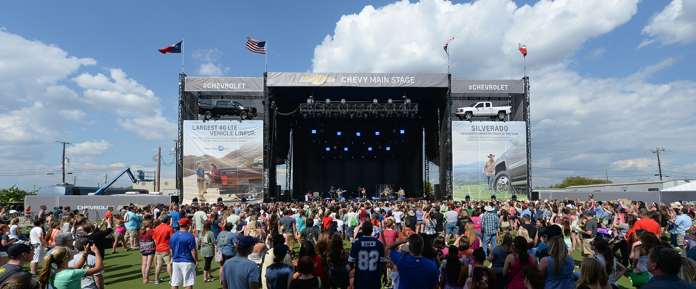 Live Music at the Chevy Main Stage
