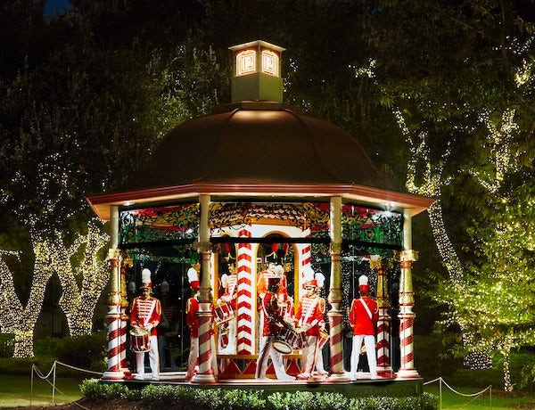 Holiday at the Arboretum featuring The 12 Days of Christmas
