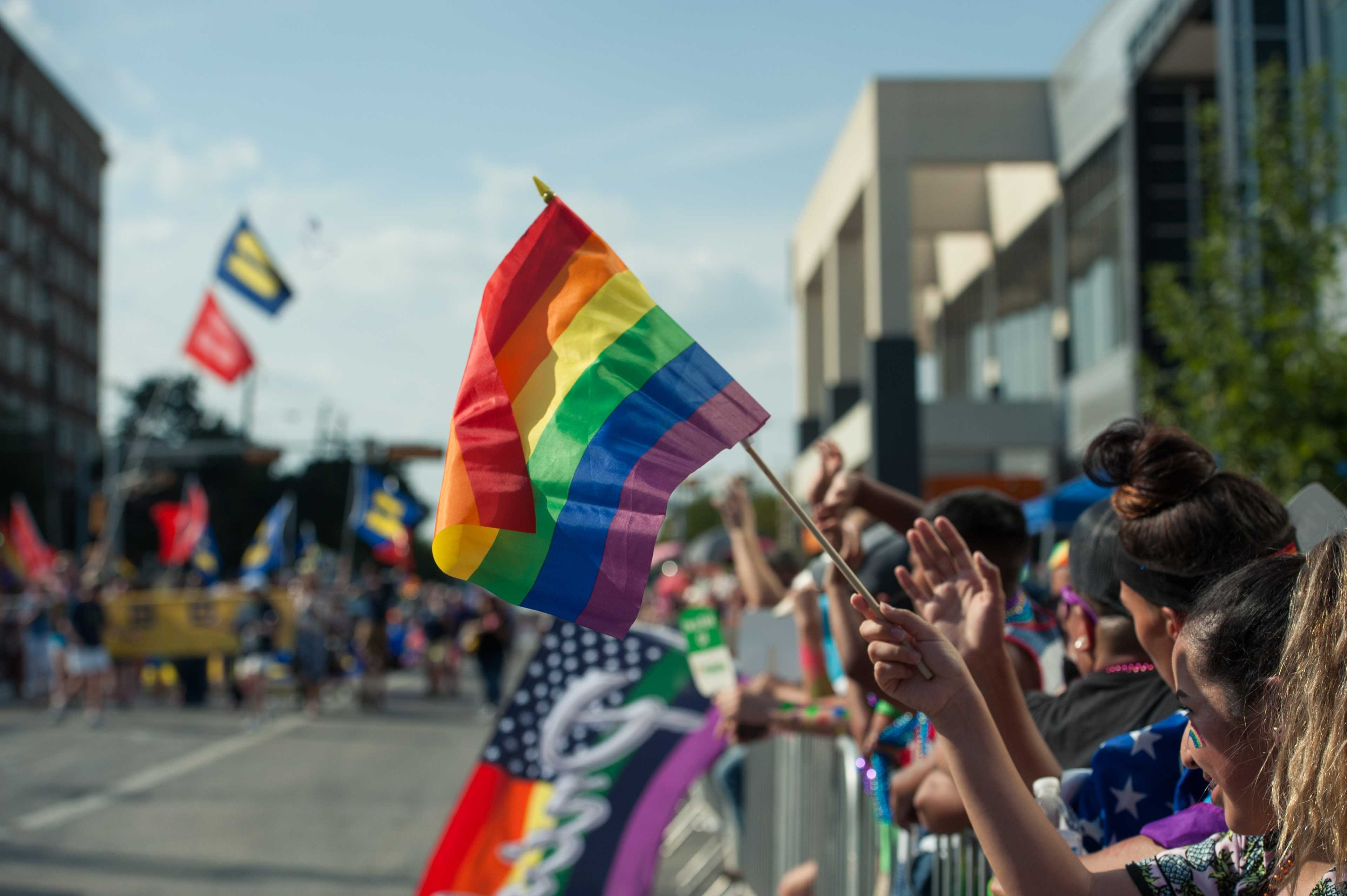 Dallas gay halloween parade cedar springs