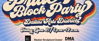 Dallas Arts District Pride Block Party