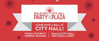 NYE in Dallas: Party on the Plaza
