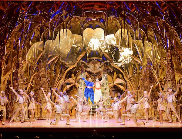 Aladdin the hit Broadway musical