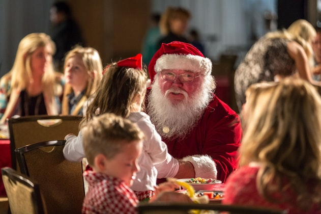 Christmas at the Anatole featuring Breakfast with Santa