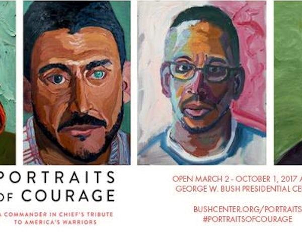 Portraits of Courage Exhibit