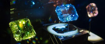 Giant Gems of the Smithsonian at the Perot Museum of Nature and Science