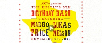 The Rustic's Birthday Bash w/ Margo Price & Lukas Nelson