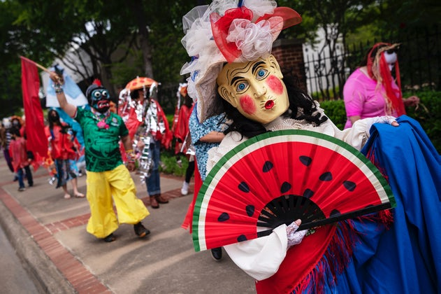 Opening Night of Latinidades:  A Peek into Cara Mia Theatre's 25-year residency at the Latino Cultural Center