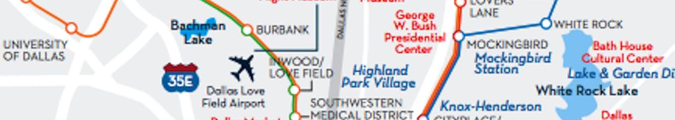 Greater Dallas Area Map