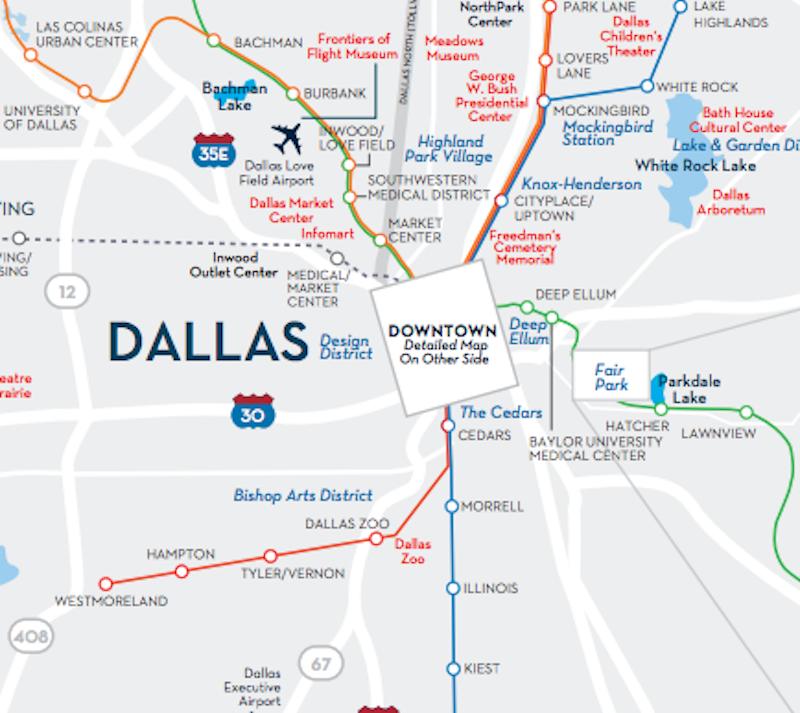 Greater Dallas Map.Greater Dallas Area Map