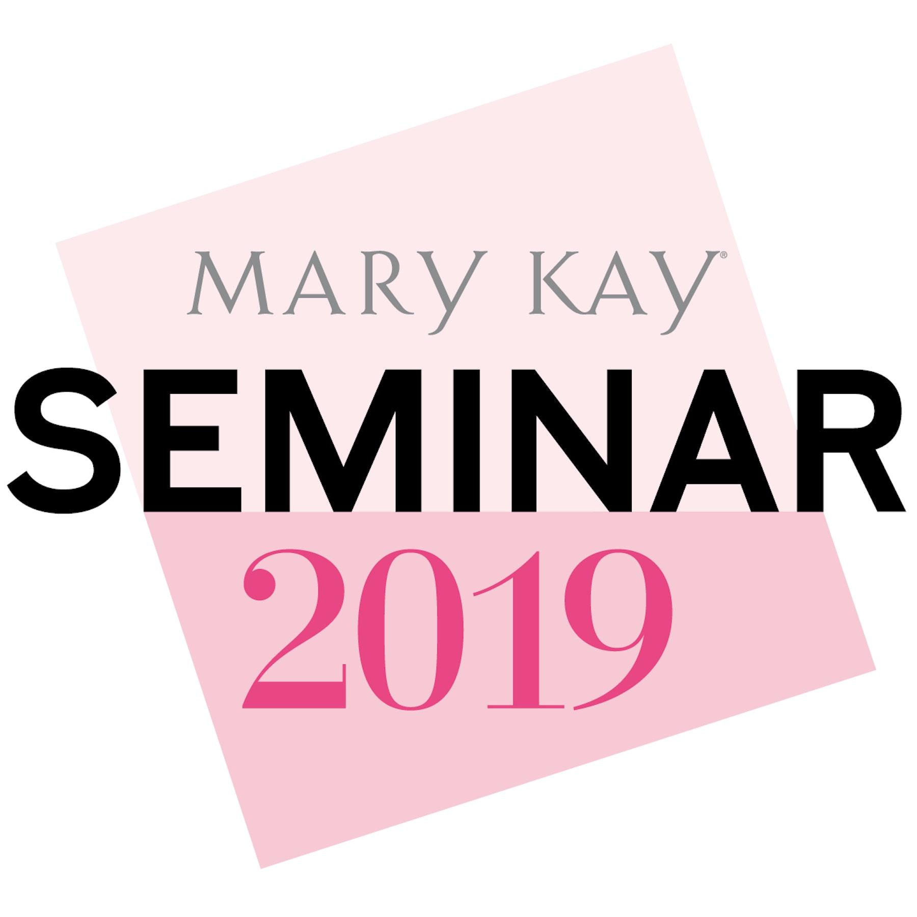 Mary Kay Seminar 2019 Logo