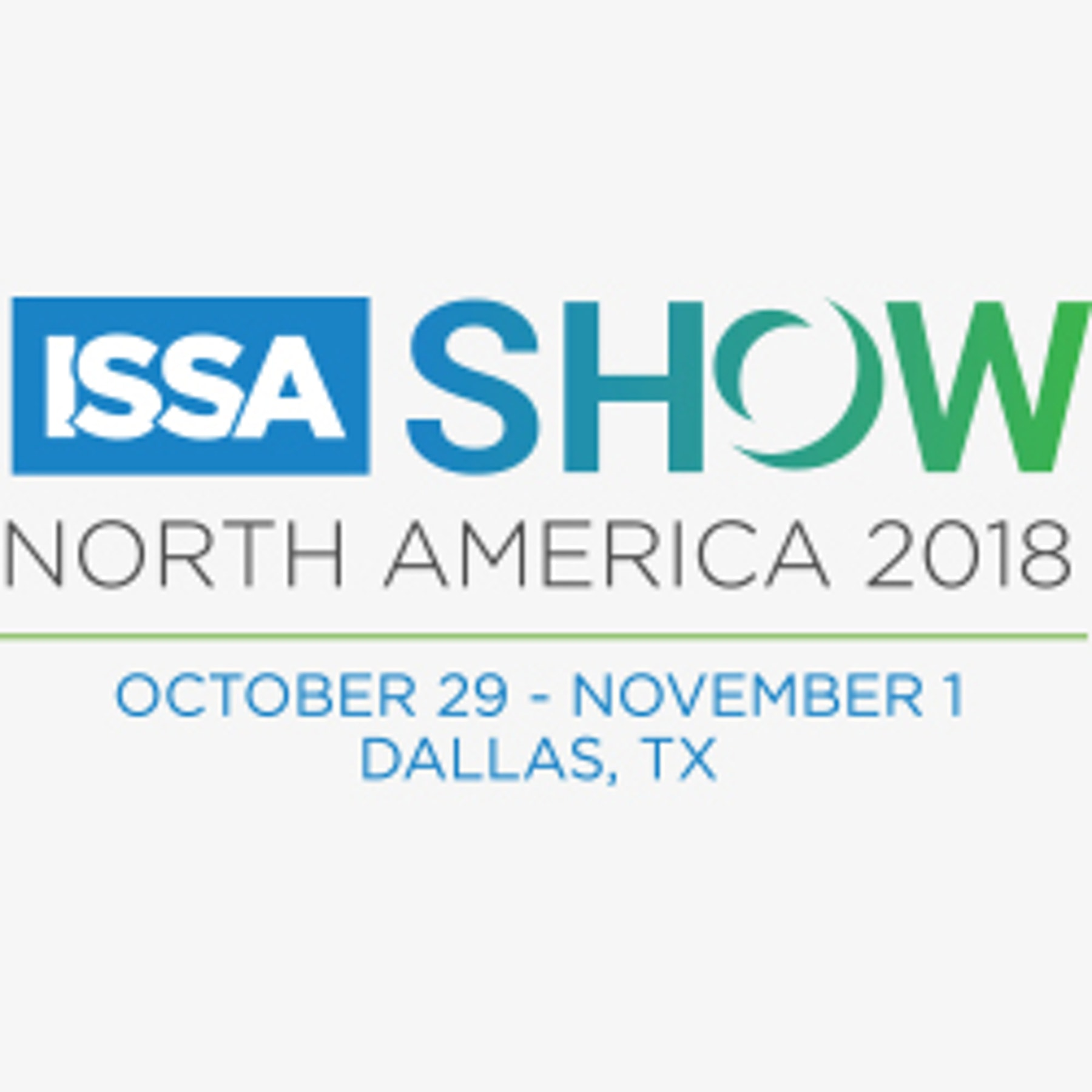 ISSA Show North America 2018 Logo