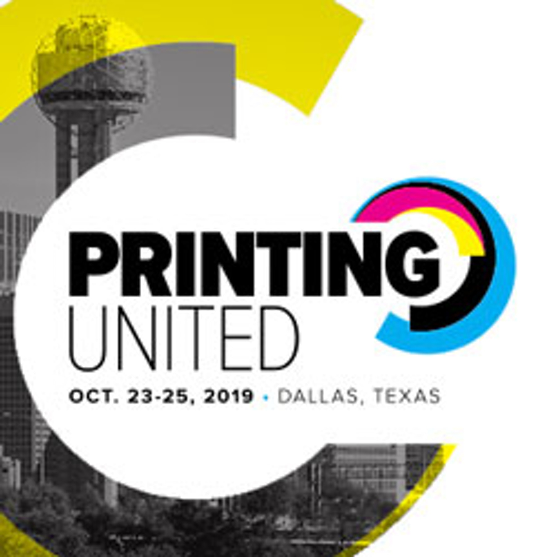 Welcome, Printing United Exhibitors!  Logo