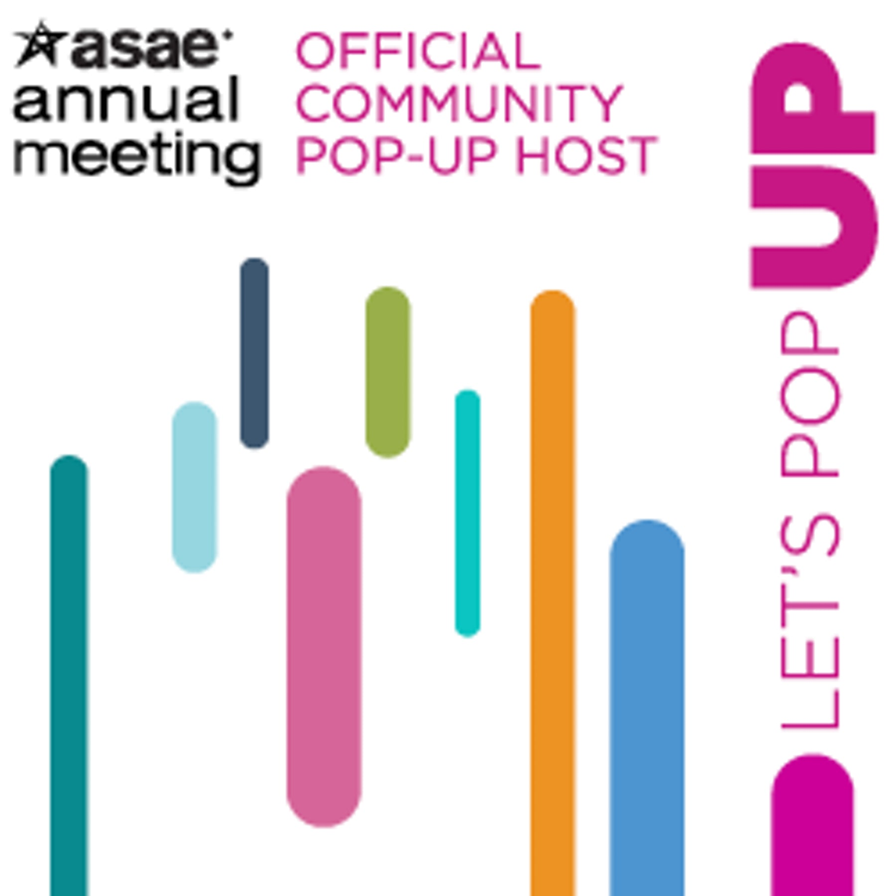 ASAE Community Pop Up  Logo