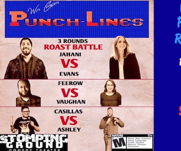 Wes Corwin's Punch-Lines Roast Battle (May 31, 2019 @ 11:00 pm - 12