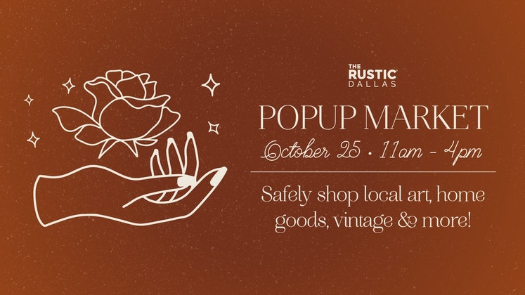Pop-Up Market at The Rustic