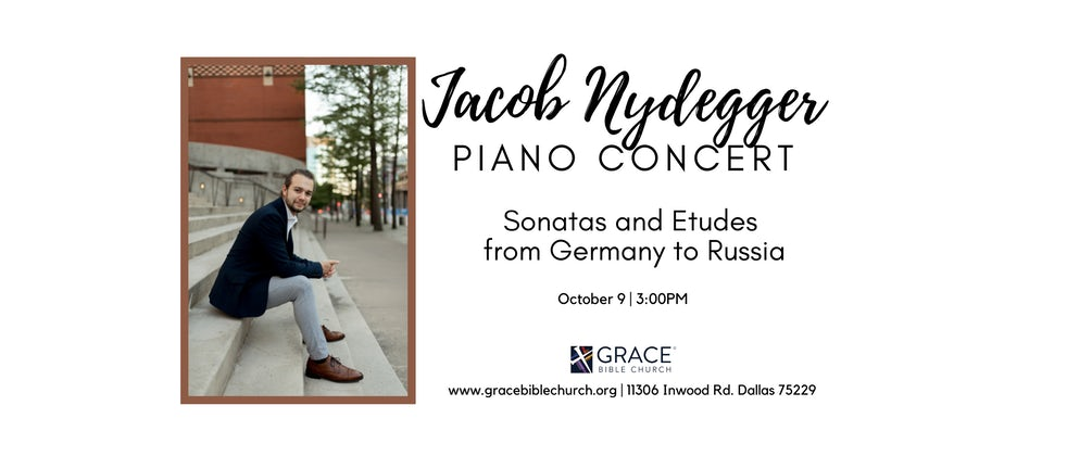 Jacob Nydegger Piano Concert