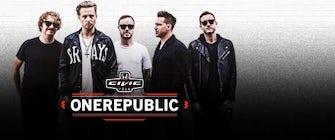 OneRepublic, Fitz and The Tantrums & James Arthur