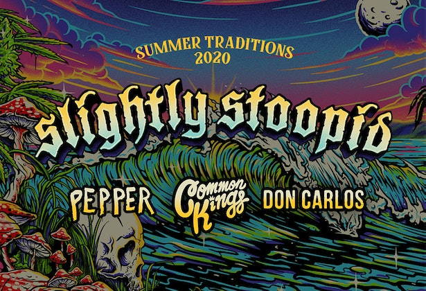 Slightly Stoopid, Pepper & Common Kings