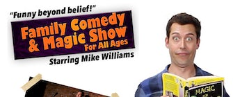 Family Magic Show with Comedy Magician Mike Williams