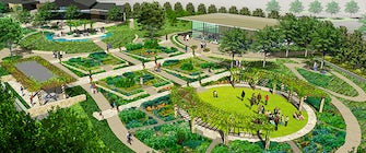 Dallas Arboretum's A Tasteful Place Ribbon Cutting
