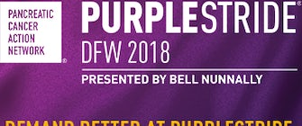 PurpleStride DFW 2018 Presented by Bell Nunnally