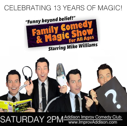 Family Magic Show with Mike Williams