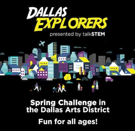 walkSTEM Dallas Explorers Spring Challenge