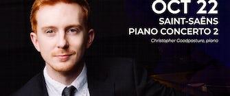 "Dallas Chamber Symphony presents ""Saint-Saens Piano Concert 2"""