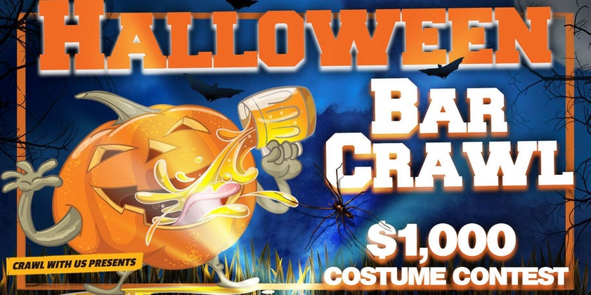 The 4th Annual Halloween Bar Crawl - Dallas