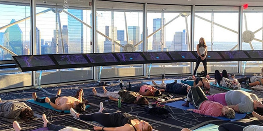 Sunset Yoga with City Yoga Dallas