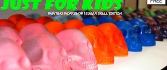 Just For Kids: Sugar Skull Painting