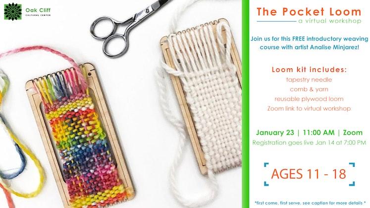 The Pocket Loom: a virtual workshop