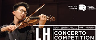 DSO Lynn Harrell Concerto Competition