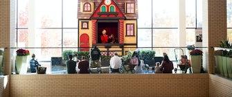 Santa's Toy Shoppe Puppet Theatre