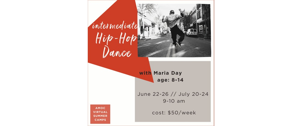 Virtual Camp: Intermediate* Hip-Hop Dance for kids age 8-14