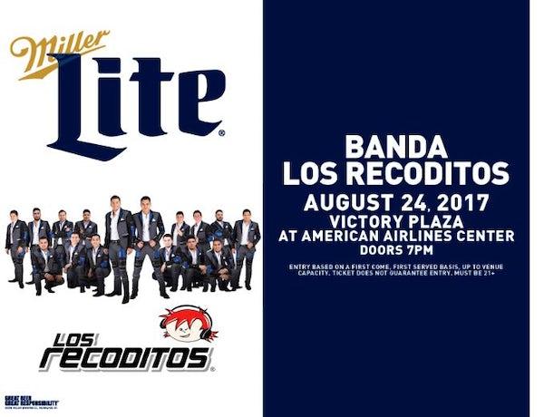 Banda Los Recoditos - Miller Lite Conciertos Originales