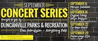 September Concert Series