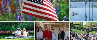 Memorial Day Weekend at the Dallas Arboretum