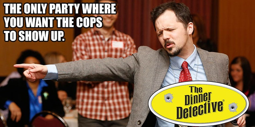The Dinner Detective Interactive Mystery Dinner Show