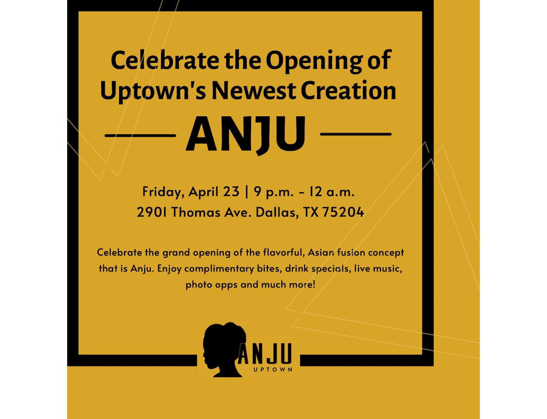 Anju Celebrates Grand Opening with Bites, Beverages & Beats!