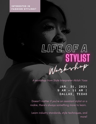 Life of A Stylist Workshop