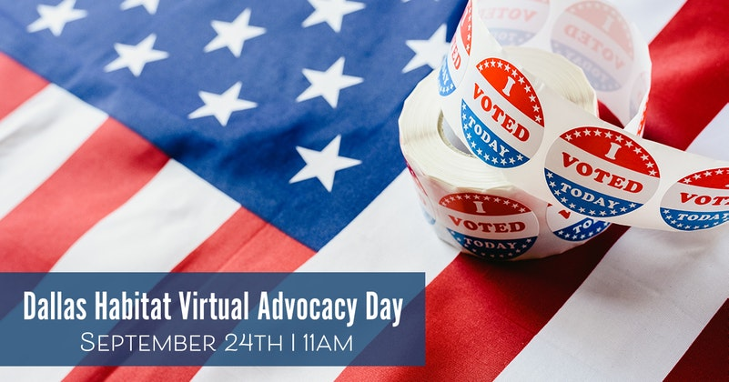 Dallas Habitat Virtual Advocacy Day