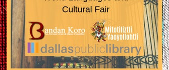 Dallas Public Library Hosts the Drum Jabber, Part of the World Languages and Cultural Fair